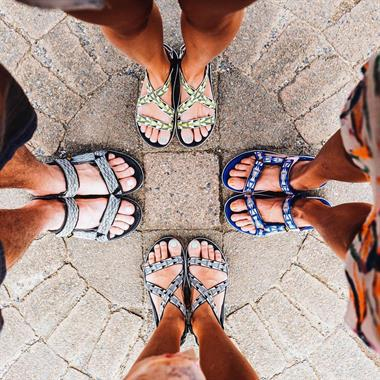 Teva Spring escape to Australia with  ladyslider and the new Terra-Float  sandals 40b623bfaa79